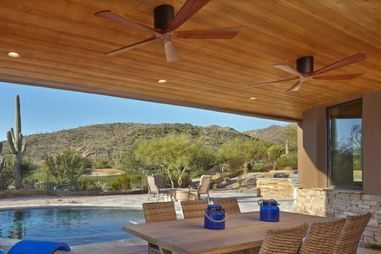 ventilateur plafond atlas fan pour terrasse, extérieur ou véranda