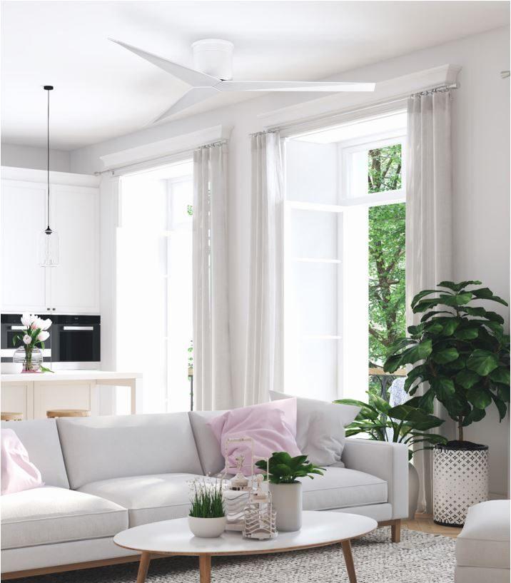 ventilateur plafond design atlas fan eliza blanc
