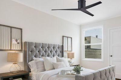 ventilateur plafond eliza reversible avec une télécommande à distance