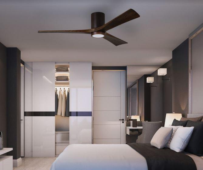 ventilateur plafond bois atlasfan irene