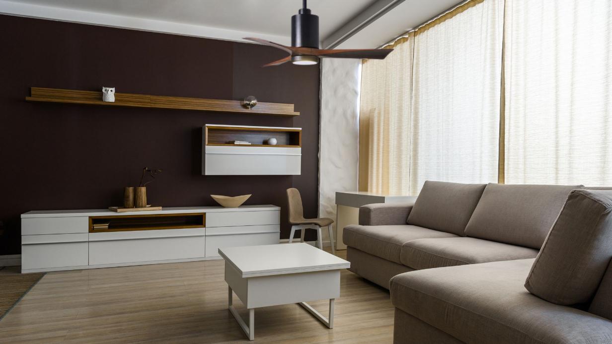 ventilateur plafond noir patricia atlasfan